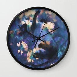 A Cat's Dream Wall Clock