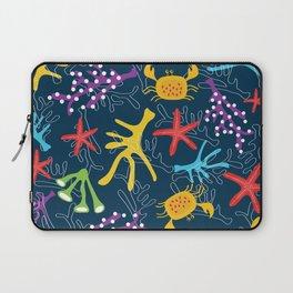 Seabed, ocean pattern design Laptop Sleeve