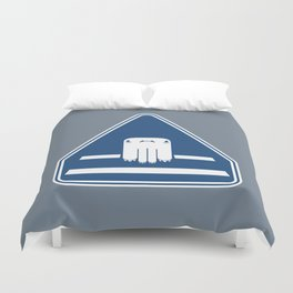Monster Crossing Duvet Cover