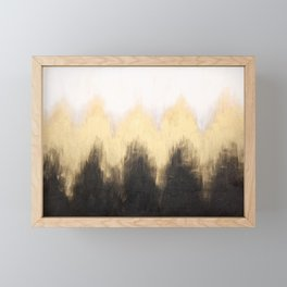 Metallic Abstract Framed Mini Art Print