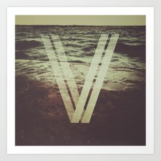 Undercurrent Art Print