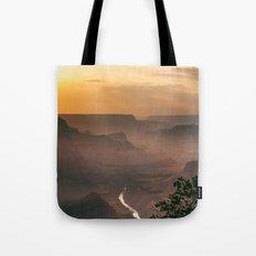 Grand Canyon - South Rim - Evening Haze Tote Bag