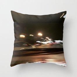 nightdrive 6 Throw Pillow