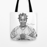 oitnb Tote Bags featuring Crazy Eyes from OITNB by nilelivingston