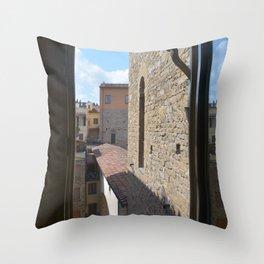 Florence - The Kitchen Window Throw Pillow