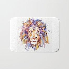 Lion Head Bath Mat