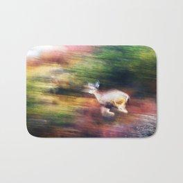 Rainbow Deer Bath Mat