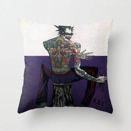Porn Happy. Throw Pillow