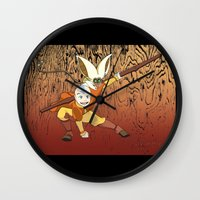 avatar Wall Clocks featuring Avatar by SnowVampire