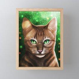 Firestar Framed Mini Art Print