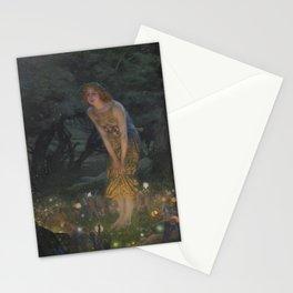 Midsummer Eve - Edward Robert Hughes Stationery Cards
