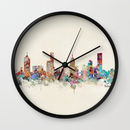 melbourne australia Wall Clock
