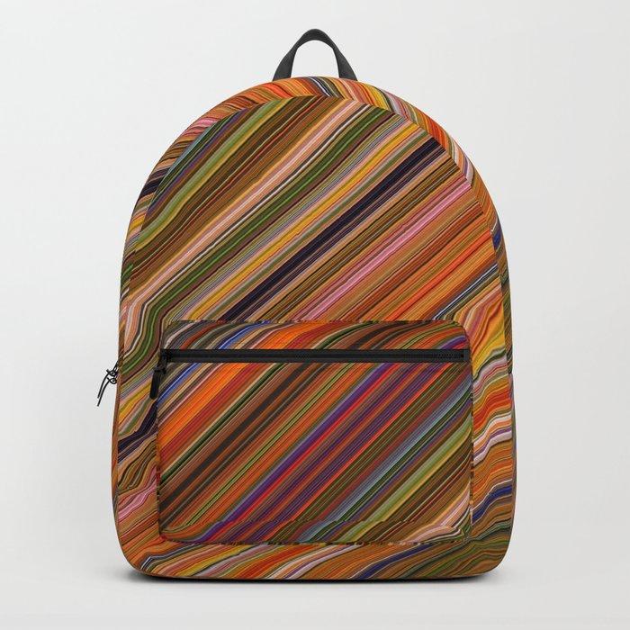 Autumn Stripes Backpack