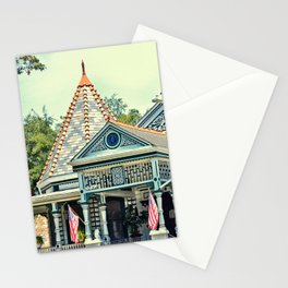 American Victorian House Stationery Cards