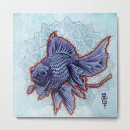 Blue Moore Metal Print