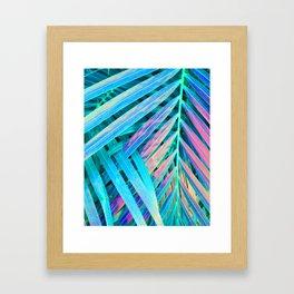 Rainbow Palms Framed Art Print