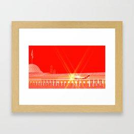 SquaRed: Freedom Flight Framed Art Print