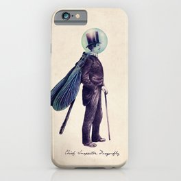 Inspector Dragonfly iPhone Case