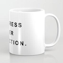 Progress over perfection Coffee Mug