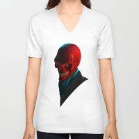 melissa smith V-neck T-shirts featuring JOHN SMITH by John Aslarona