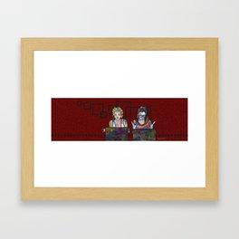 Orphan Black: Crazy Science Framed Art Print