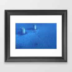 Ice Forest Framed Art Print