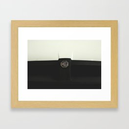 MG Cars Framed Art Print