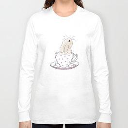 Little cup of fluff Long Sleeve T-shirt