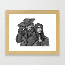 An Archer and an Oddity Framed Art Print
