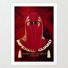 Imperial Guard Art Print