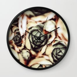 DARKSIDE OF SUCCULENTS IX Wall Clock