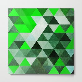 Green as dolla!  Metal Print