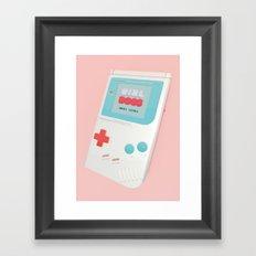 Girlboss Next Level Framed Art Print