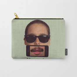mustache~ Carry-All Pouch