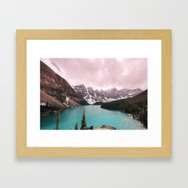 Moraine Lake Banff National Park Framed Art Print