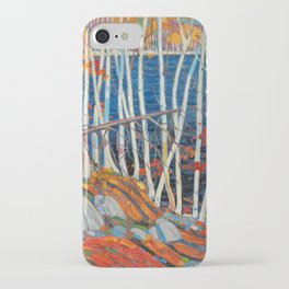 In The Northland (Group Of Seven) by Tom Thomson Canadian Landscape Art iPhone Case