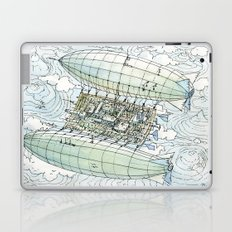 Flying over the montains Laptop & iPad Skin