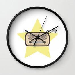 Retro Radio   Wall Clock