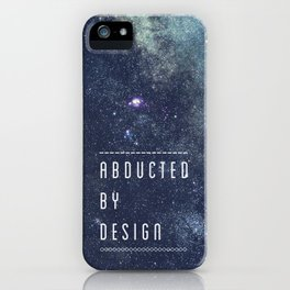 ABDUCTED iPhone Case