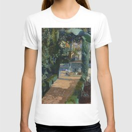 Joaquin Sorolla y Bastida Court of the Dances, Alcázar, Sevilla, 1910, Oil on canvas T-shirt