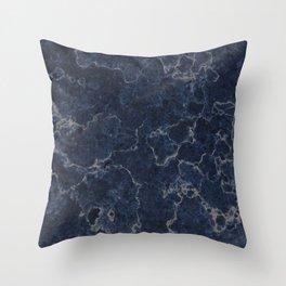 Denim Marble Texture Surface 21 Throw Pillow