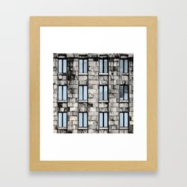 Main Post Office Building in Belgrade Framed Art Print