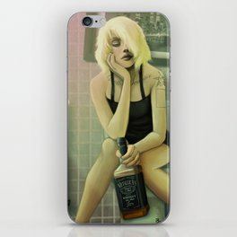 Whiskey in the Bathroom iPhone Skin