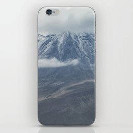 Close up view of volcano Chachani iPhone Skin