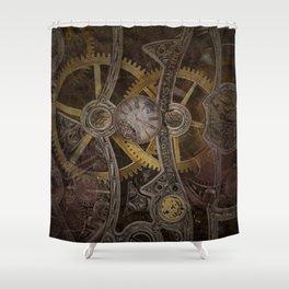 Gear Shower Curtain