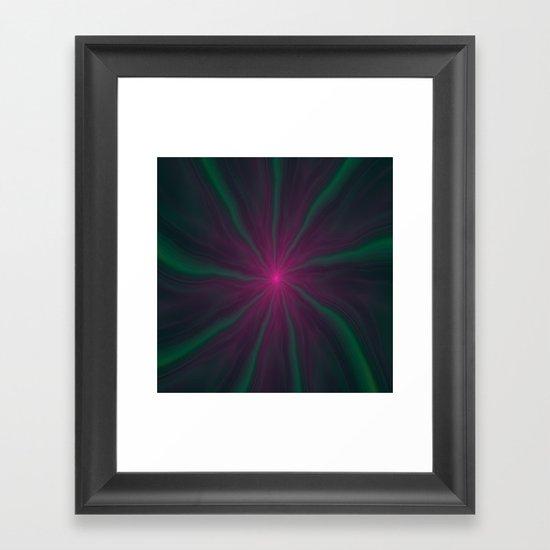 Nine Green Fingers Framed Art Print
