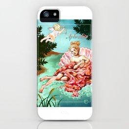 Greek gods series - Aphrodite (Venus) iPhone Case