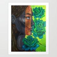 The Eternal Green Art Print