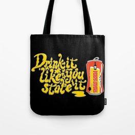 Road Soda Tote Bag
