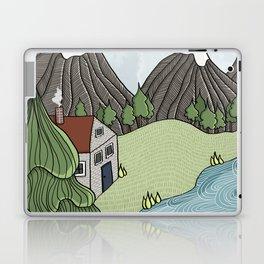 Cabin in the Mountains Laptop & iPad Skin